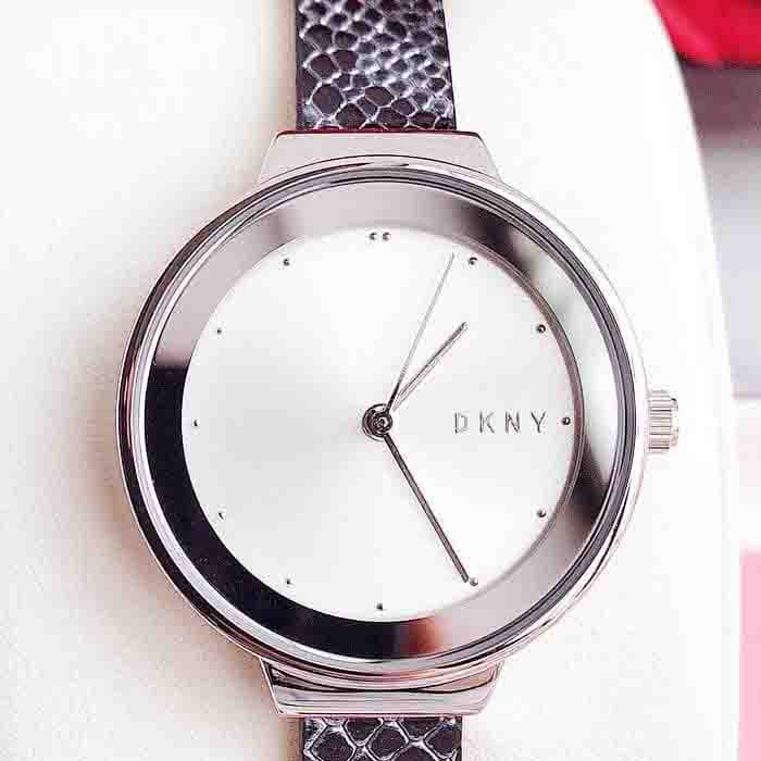 Đồng hồ Dkny Astoria Three-Hand Animal-Print Leather