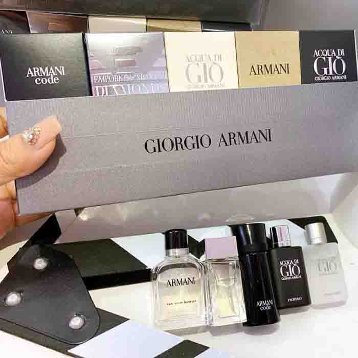 NƯỚC HOA SET GIORGIO ARMANI FOR MEN
